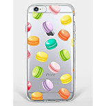 Случай для iphone 7 плюс iphone 6 полупрозрачный образец телефона телефона раковины для iphone 7 iphone 6 / 6s плюс iphone 6 / 6s iphone 5