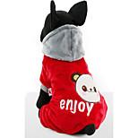 Собака Толстовки Одежда для собак На каждый день Носки детские Красный Синий