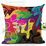 1pcs Colorful dazzling geometric printing style pillowcase cushion cover