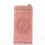 Для nokia lumia 650 640 чехол для карточек с подставкой с флип тиснением полный корпус корпус сплошной цвет цветок твердый кожа pu для