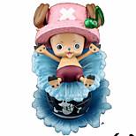 Аниме Фигурки Вдохновлен One Piece Tony Tony Chopper ПВХ 17 См Модель игрушки игрушки куклы