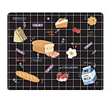 Гало оригинальный ткань коврик для мыши время для завтрака японский натуральный резина 22 * 18cm