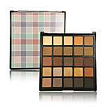 Natural Nudes Eye Shadow Palette 25 Colors Makeup Eyeshadow Contour Gold Metallic Pigment Shimmery Glitter Chic Professinal Set