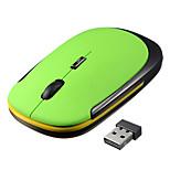 Офисный подарок 2.4g беспроводная мышь для ноутбука