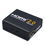 60M HDMI Extender HDMI 2.0 Splitter Repeater Signal Amplifier Booster Adapter 1080P@60HZ HDCP 2.2 EDID Bandwidth Up