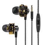Double Action Circle Ear Earphone Subwoofer HIFIvivo   Magic Sound  Ear Plug