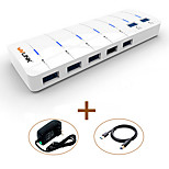 WAVLINK   USB3.0 HUB 7-Port Super-Speed LED Indicator with 180CM Cable