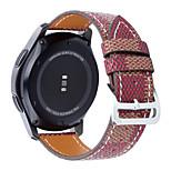 Echt Leer Klassieke gesp Voor Samsung Galaxy Horloge