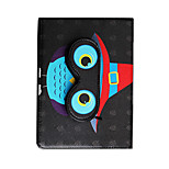 Für apfel ipad (2017) pro 9.7''case cover mit stand flip pattern full body case eule hartes pu leder ipad air 2 air mini 1 2 3/4