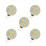 2.5W Двухштырьковые LED лампы 15 SMD 5630 220 lm Тёплый белый Белый DC 12 V 5 шт.