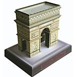 Пазлы 3D пазлы Строительные блоки Игрушки своими руками Квадратный Плотная бумага