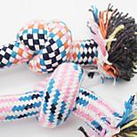 Игрушка для собак Игрушки для животных Шарообразные Веревка