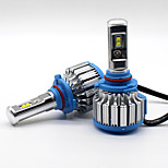 70w 7200lm 9005 hb3 philips светодиодный фонарик комплект автомобильных лампочек модернизация 6000k