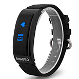 HHY New DF23 Smart Wristbands Wechat Sports Pedometer Heart Rate Sleep Monitoring Bluetooth Waterproof Healthy Wear Bracelet Android IOS