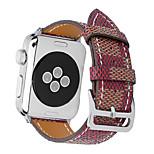 Horlogeband voor appelwatch series1 2 echte leer klassieke gespen band 38mm 42mm