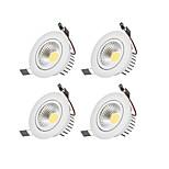 LED даунлайт Тёплый белый Холодный белый Светодиодная лампа Лампа входит в комплект 4 шт.
