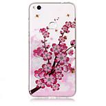 Чехол для huawei p8 lite (2017) p10 lite phone case tpu материал imd процесс цветение сливы hd флеш-накопитель телефон p9 lite p8 lite