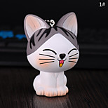 Сумка / телефон / брелок шарм мультфильм игрушка кошка pvc