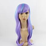 парик косплей синтетический Без шапочки-основы парики Средний Синий Волосы