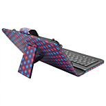 For iPad Case with Keyboard USB English Version 9-10.5 inch Universal Geometric Pattern PU leather Case For iPad Pro 10.5 iPad (2017) Pro9.7 Air Air2