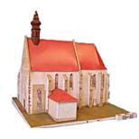 Пазлы Набор для творчества 3D пазлы Строительные блоки Игрушки своими руками Ветряная мельница Знаменитое здание Лошадь Плотная бумага