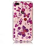 Etui til apple iphone 7 plus 7 telefon taske tpu materiale imd proces sommerfugl mønster hd flash pulver telefon taske 6s plus 6 plus 6s 6