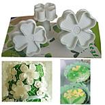 4 предмета Файлы cookie Для торта Пластик Инструмент выпечки Экологичность