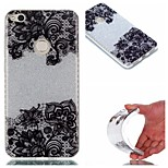 Case for Huawei P8 Lite (2017) P9 IMD Back Cover Lace Printing Glitter Shine Soft TPU P9 Lite P8 Lite