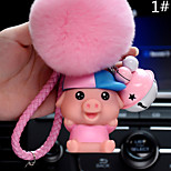 Сумка / телефон / брелок шарм свинья мультфильм игрушка мех мяч телефон ремешок ПВХ