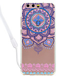 Case For Huawei P10 Lite P10 Lace Flowers Pattern Acrylic Backplane and TPU Edge Materia Neck Lanyard P9 Lite P8 Lite 2017 P8 Lite