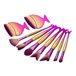 9pcs Makeup Brush Set Synthetic Hair