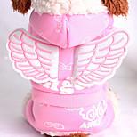 Собака Толстовки Одежда для собак Сохраняет тепло Носки детские Розовый Светло-синий