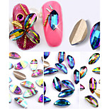 10PCS Nail  Art drill Stick Act the Role Ofing Iridescence Petals Diamond 3 Color Optional