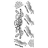 Временные тату Прочее С рисунком Нижняя часть спины Waterproof Женский Мужской Подростки Вспышка татуировки Временные татуировки