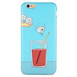 Случай для iphone 7 плюс iphone 7 крышка imd задняя крышка случая мультфильм мягкий tpu для яблока iphone 6s плюс iphone 6 плюс iphone 6s