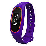 HHY New Blood Pressure Heart rate Smart Wristbands Caller ID Waterproof Miles Sleep Monitoring Support Android Apple