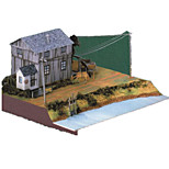 Пазлы Набор для творчества 3D пазлы Строительные блоки Игрушки своими руками Лошадь Плотная бумага