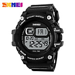 SKMEI Ανδρικά Αθλητικό Ρολόι Ψηφιακό ρολόι Ψηφιακό PU Μπάντα Μαύρο
