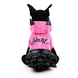 Собака Платья Одежда для собак На каждый день Принцесса Желтый Пурпурный