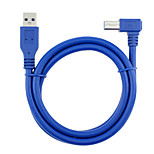 USB 3.0 Cable, USB 3.0 to USB 3.0 Tipo B Cable Macho - Macho 5,0 m (16 pies)