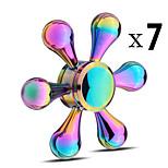 Fidget spinners Hilandero de mano Peonza Juguetes Juguetes Spinner de anillo EDCAlivia ADD, ADHD, Ansiedad, Autismo Alivio del estrés y