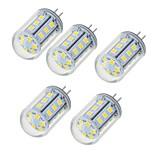 5W Двухштырьковые LED лампы T 24 SMD 2835 450-550 lm Тёплый белый Холодный белый V 5 шт.
