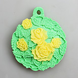 Five Flowers Fondant Mold DIY Silicone Soap Candle Mold Handmade Soap Salt Carved DIY Silicone Food Grade Silicone Mold