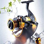 Рыболовная катушка подшипника Спиннинговые катушки 5.1:1 13 Шариковые подшипники Заменяемый Морское рыболовство Пресноводная рыбалка