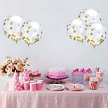 1шт 12 дюймов через яркий кусок конфетти воздушные шары алюминиевая фольга воздушные шары праздник праздник воздушный шар брак комната
