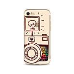 Чехол для iphone 7 плюс 7 крышка прозрачный узор задняя крышка корпус мультфильм радио лампа мягкий tpu для apple iphone 6s плюс 6 плюс 6s