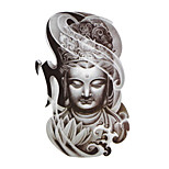 Temporary Tattoos Hand Body Totem Series 3D Waterproof Tattoos Stickers Non Toxic Glitter Large Fake Tattoo Body Jewelry  Halloween Gift 22*15cm