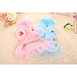 Собака Платья Одежда для собак На каждый день Носки детские Синий Розовый