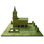 Пазлы Набор для творчества 3D пазлы Строительные блоки Игрушки своими руками Знаменитое здание