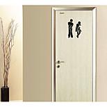 абстракция 3D Наклейки Простые наклейки 3D наклейки Зеркальные стикеры Декоративные наклейки на стены 3D,Акрил материал Украшение дома